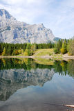Mountains and lake Royalty Free Stock Photography