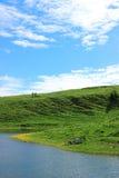 Mountains lake Stock Image