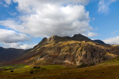 Mountains in Lake District, Cumbria, England. Stunning view in the Lake District Royalty Free Stock Image