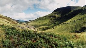 Mountains in the Lake District stock images