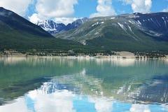 Mountains lake Hubsugul Stock Images