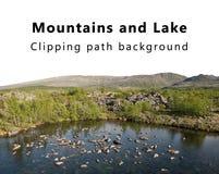 Mountains and Lake Royalty Free Stock Photo