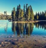 Mountains lake Royalty Free Stock Photo