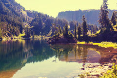 Mountains lake Royalty Free Stock Image