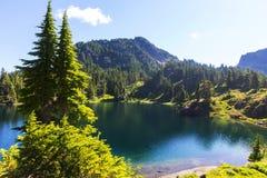 Mountains lake Stock Photography