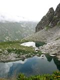 Mountains Lakes Royalty Free Stock Photography