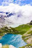Mountains, lakes and peace royalty free stock photo