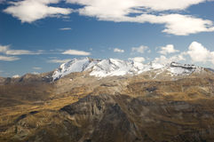 Mountains Landscape. Alps Mountains in Austria, Europe Stock Photography