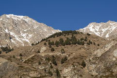 MOUNTAINS LANDSCAPE. Image of the mountain in North Caucasus Royalty Free Stock Image
