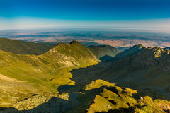 Mountains landscape. Beautiful mountains landscape. Composition of nature Stock Photography