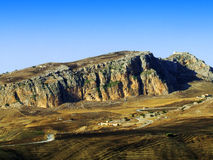 Mountains landscape. Photo of mountains landscape with country royalty free stock photography
