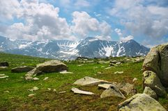 Mountains landscape. Altay Royalty Free Stock Photography