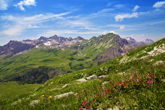 Mountains landscape in Austria Royalty Free Stock Image