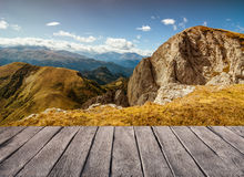 Mountains landscape background Royalty Free Stock Photography