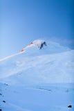 Mountains landscape beautiful sunset Elbrus Russia Stock Image