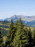Mountains landscape. France. Royalty Free Stock Photography