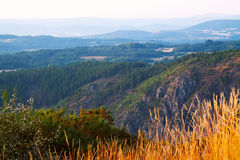 Mountains landscape of Galicia Royalty Free Stock Photo