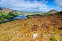 Mountains Landscape in Ireland Stock Photo