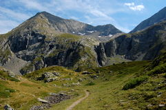 Mountains landscape. Massif Taillefer, French Alps Stock Photography