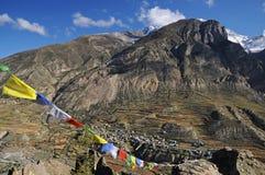 Mountains landscape, Nepal Royalty Free Stock Photo