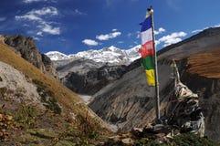 Mountains landscape, Nepal Stock Photography