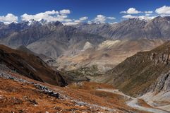 Mountains landscape, Nepal Stock Image