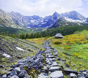The mountains landscape Royalty Free Stock Photography