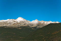 Mountains. A landscape shot from Spain Royalty Free Stock Images