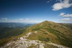 Mountains landscape in Slovakia Royalty Free Stock Photography