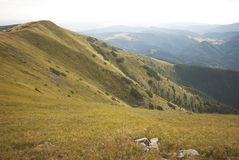 Mountains landscape in Slovakia Royalty Free Stock Images