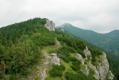 Mountains landscape in Slovakia royalty free stock photo