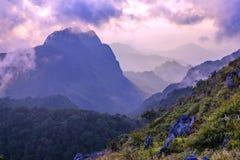 Mountains landscape sunrise Royalty Free Stock Photo