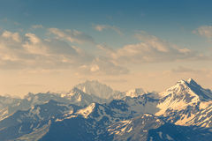 A mountains landscape Royalty Free Stock Photography