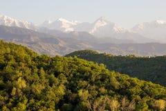 Mountains landscape, Tien-Shan Mountains, Almaty, Kazakhstan Stock Images
