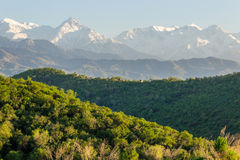 Mountains landscape, Tien-Shan Mountains, Almaty, Kazakhstan Stock Photography