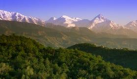 Mountains landscape, Tien-Shan Mountains, Almaty, Kazakhstan Royalty Free Stock Photography