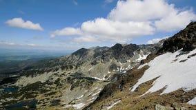 Mountains landscape timelapse stock footage