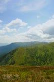 Mountains landscape of Ukraine Stock Images