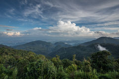 Mountains landscape view Stock Image