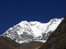 Mountains in Langtang Stock Images