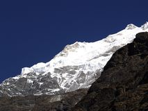Mountains in Langtang Royalty Free Stock Photography