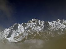 Mountains in Langtang Royalty Free Stock Images