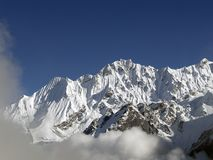 Mountains in Langtang Stock Photos