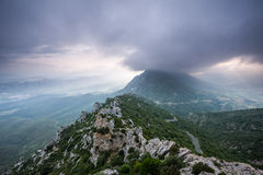 Mountains of Languedoc Royalty Free Stock Image