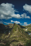 Mountains. А large mountain range in Siberia, Ergaki Royalty Free Stock Image