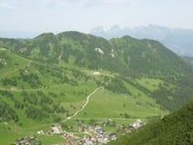 The mountains of Liechtenstein Stock Photos
