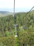 Mountains lifter Stock Photo