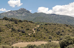 Mountains located in Cadiz Stock Photography