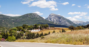Mountains located in Cadiz Royalty Free Stock Photos