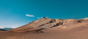 Desert mountains in Iceland royalty free stock photography